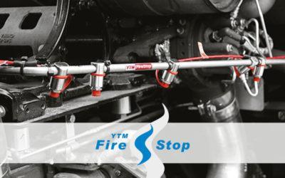 Liikkuvan kaluston ratkaisut - YTM-Firestop sammutusjärjestelmät