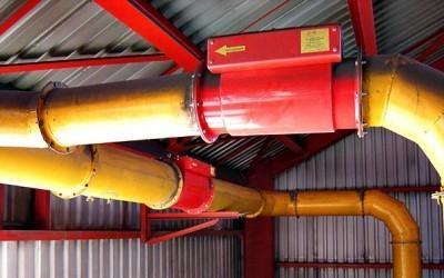 VST Engineering paineen ja pölyräjähdyksen suojausjärjestelmät