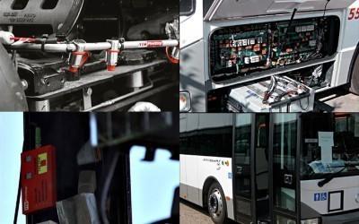 YTM FireStop sammutusjärjestelmä linja-autoihin