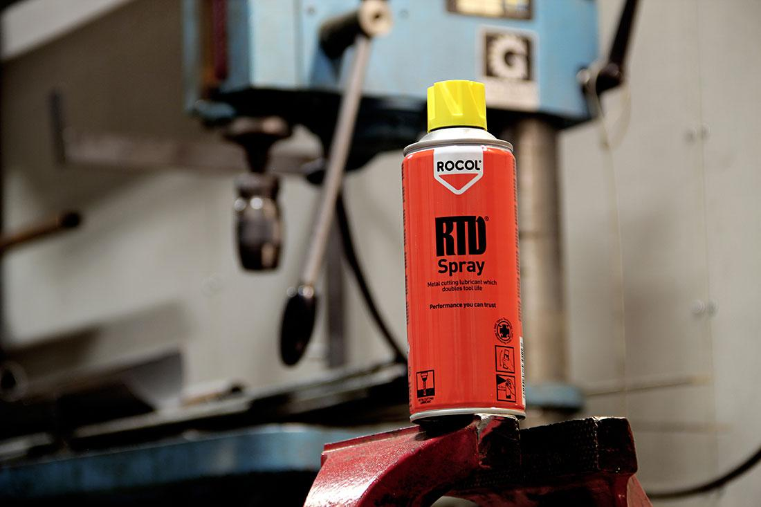 Rocol stainless steel cleaner spray